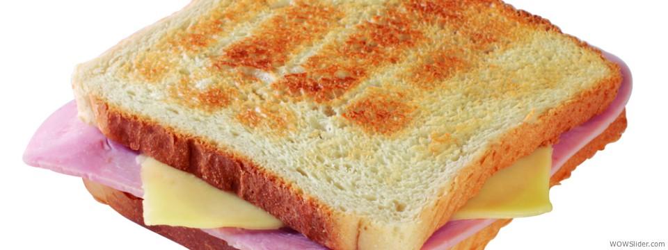 Schinken Toast
